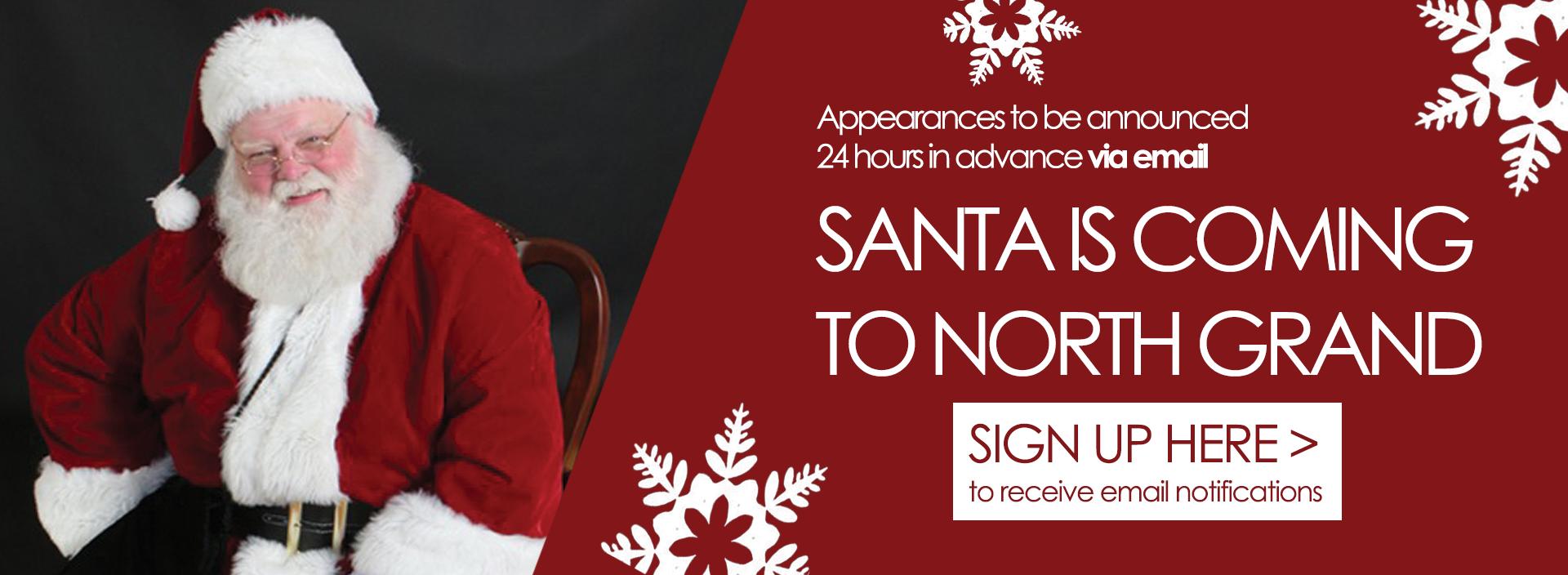 Holiday Slider 40 Santa