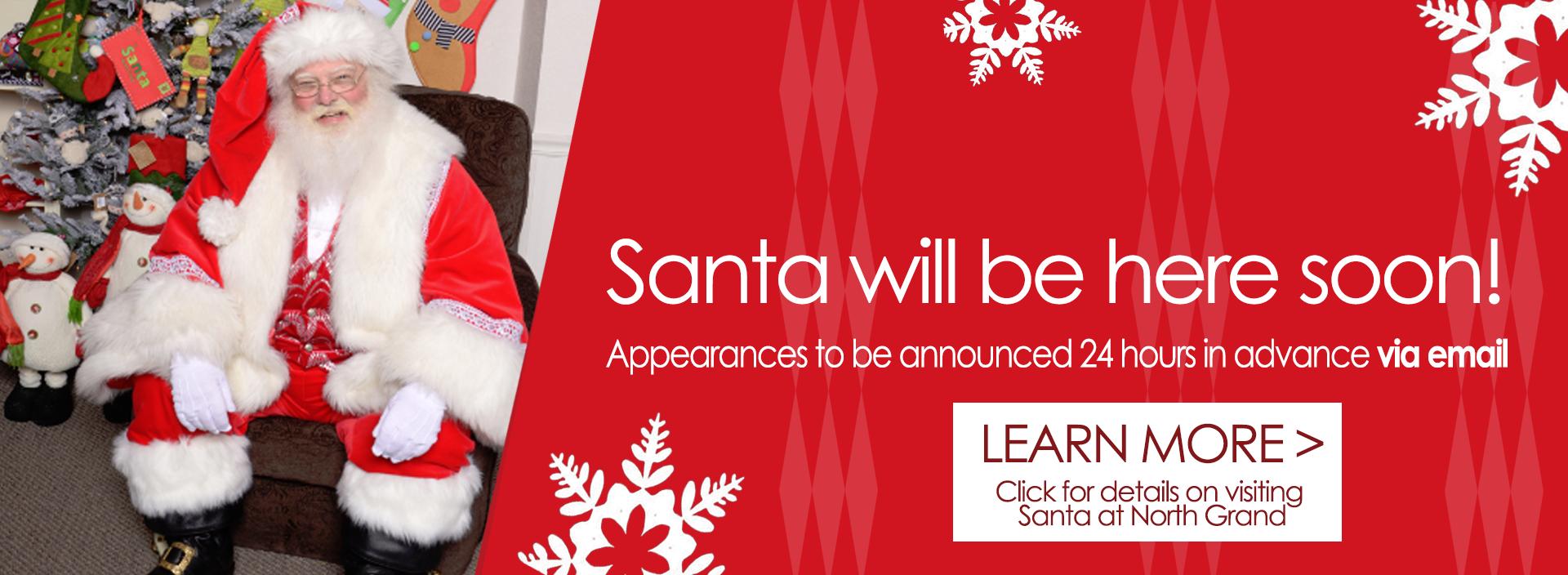 Holiday Slider 42 Santa Rules