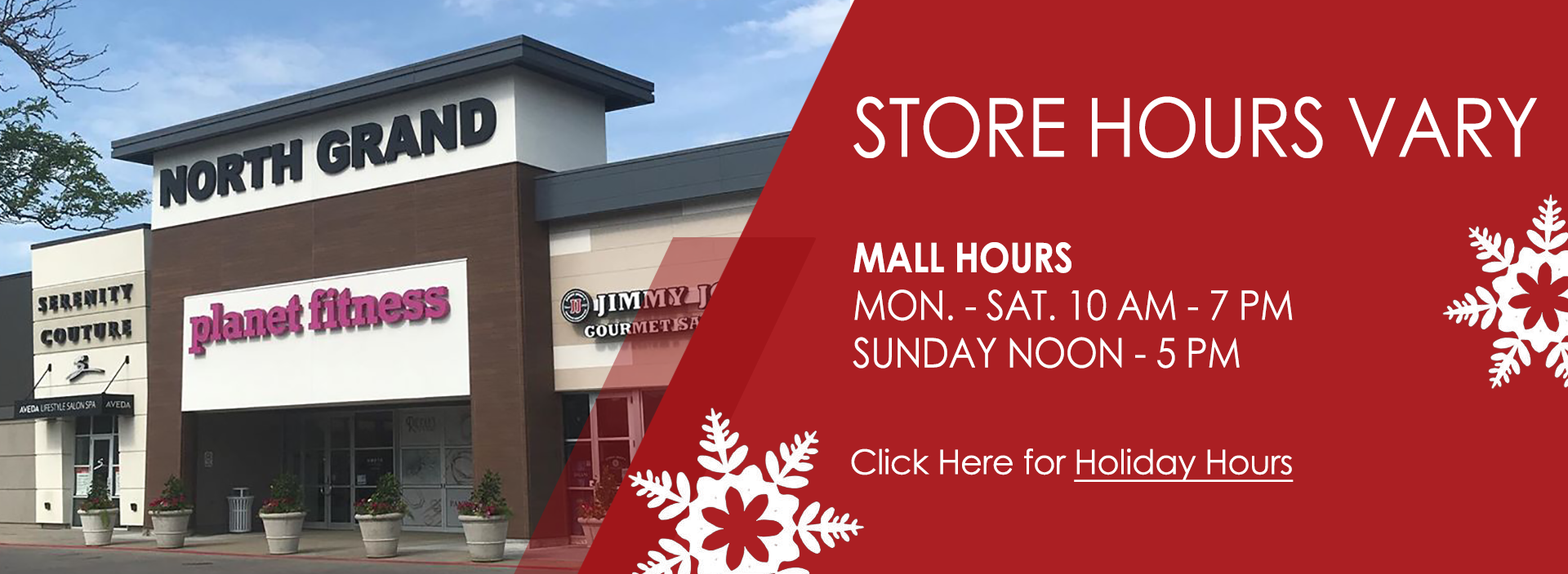 Holiday Slider 5 – Holiday STORE HOURS