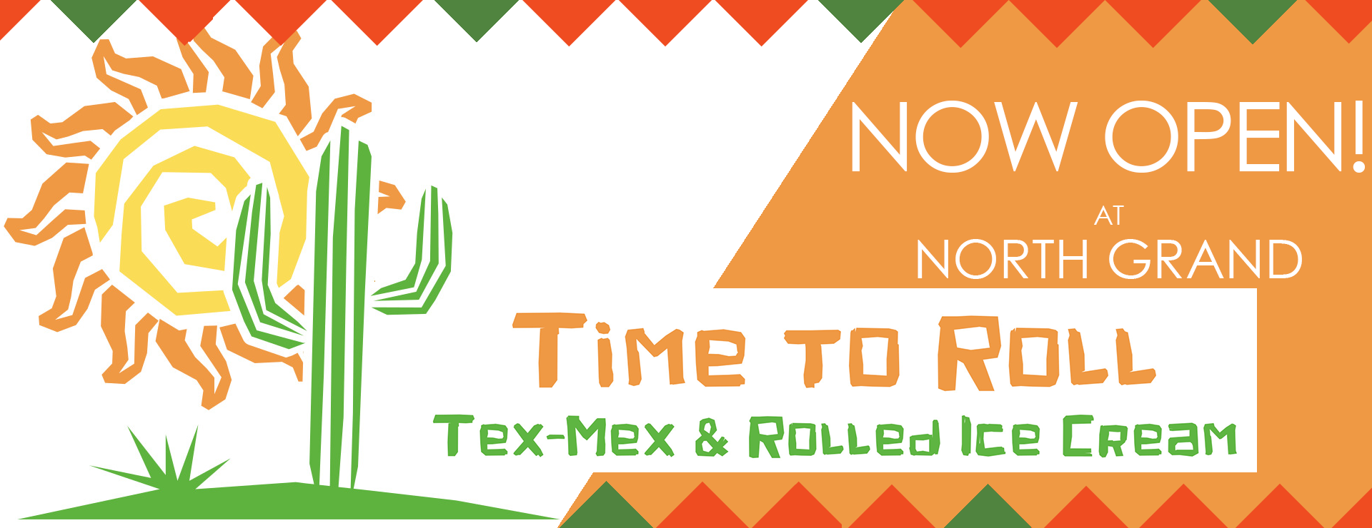 NGM-Slider Time to Roll NOW OPEN!